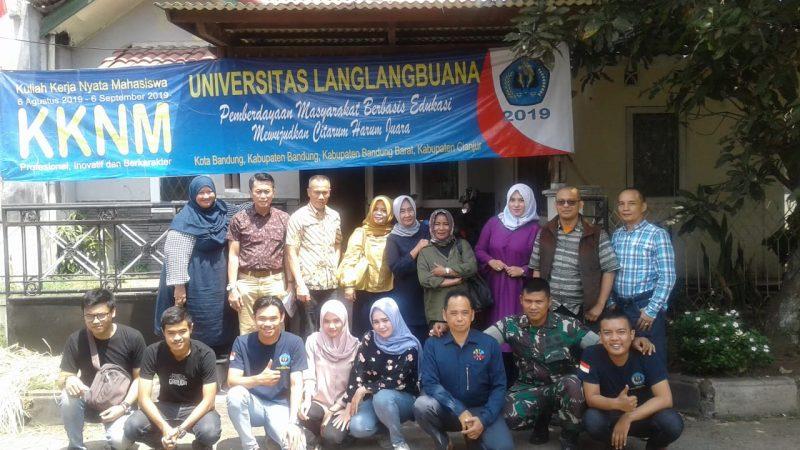 Monitoring KKNM 2019 Pimpinan FISIP UNLA