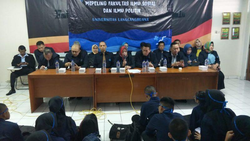 Mahasiswa Baru Antusias Ikuti Mapeling Fisip Unla 2019