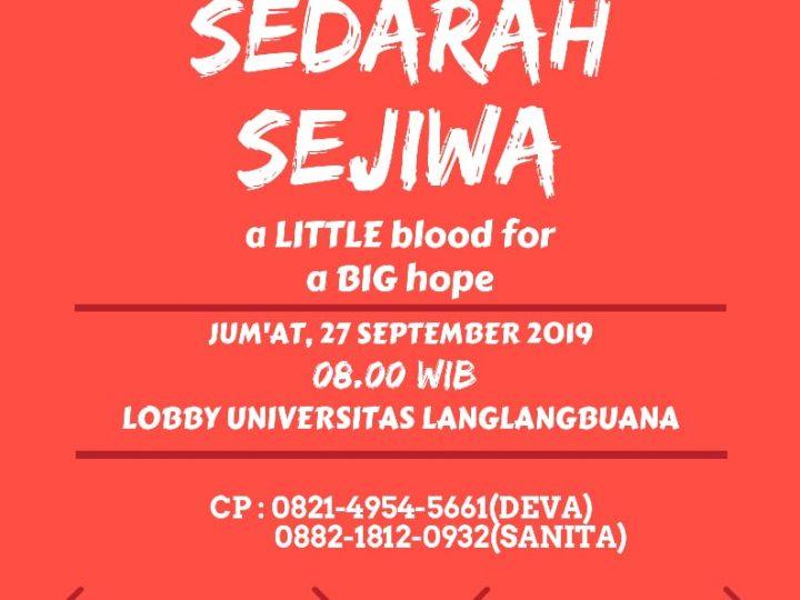 Sedarah Sejiwa dalam Donor Darah Himpunan Prodi Ikom